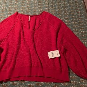 Free The People (New W/Tags) Sweater; Sz XL